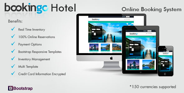CodeCanyon Bookingo Hotel Booking System 7415981