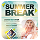 Summer Break Party Flyer Template - GraphicRiver Item for Sale