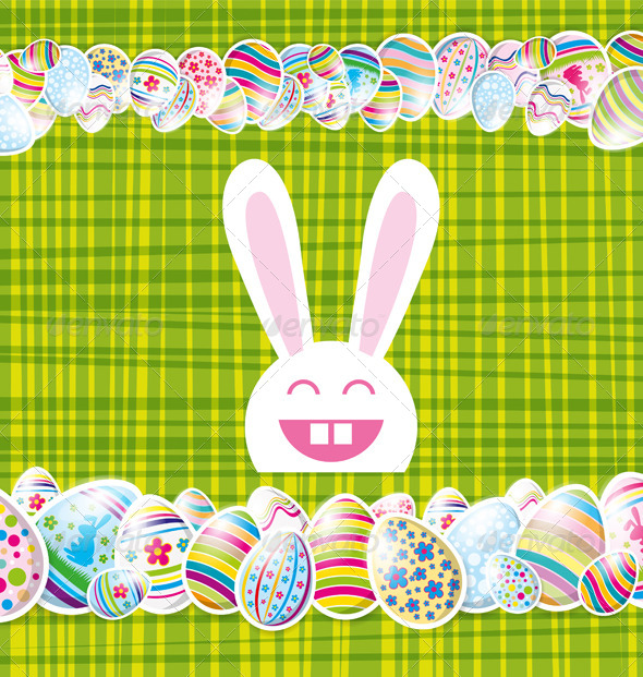 GraphicRiver Easter Card 7416538