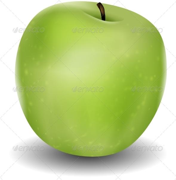 GraphicRiver Green Apple 7416639
