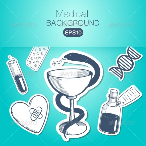 GraphicRiver Medical Background 7416694