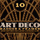 ArtDeco Badges & Frames - GraphicRiver Item for Sale