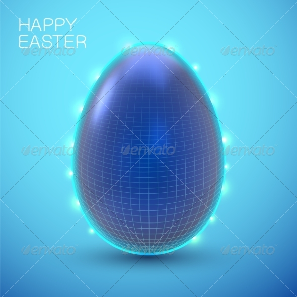GraphicRiver Easter Card Concept 7416841