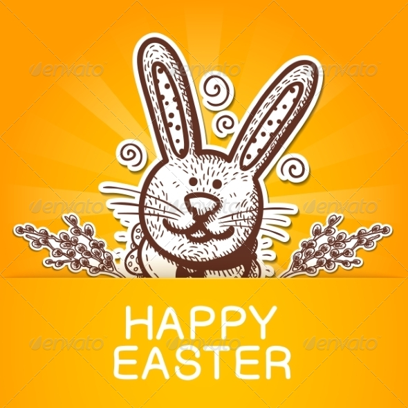 GraphicRiver Easter Card Concept 7416928