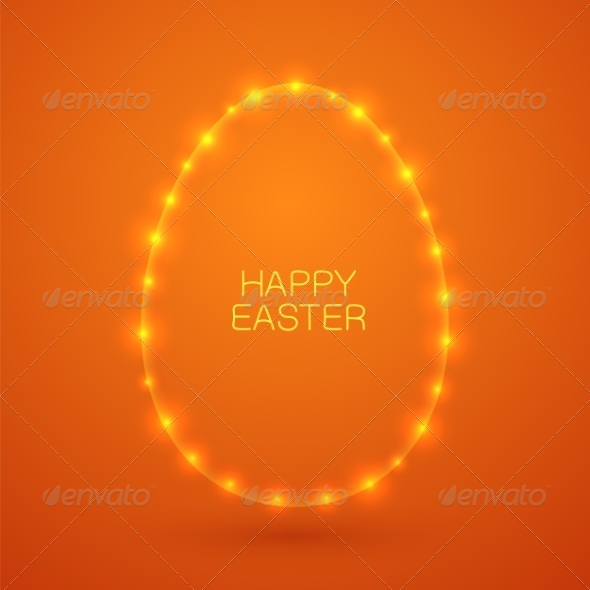 GraphicRiver Easter Card Concept 7417099