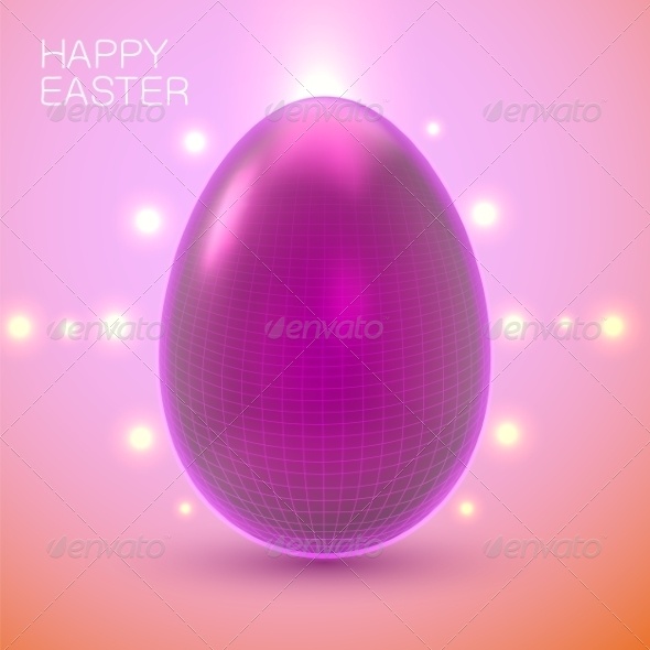 GraphicRiver Easter Card Concept 7417100