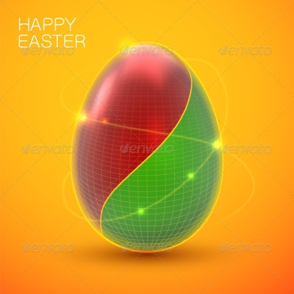 GraphicRiver Easter Card Concept 7417103