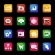 Icons with Long Shadow - GraphicRiver Item for Sale