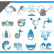 Set of Icons of Water for Design - GraphicRiver Item for Sale