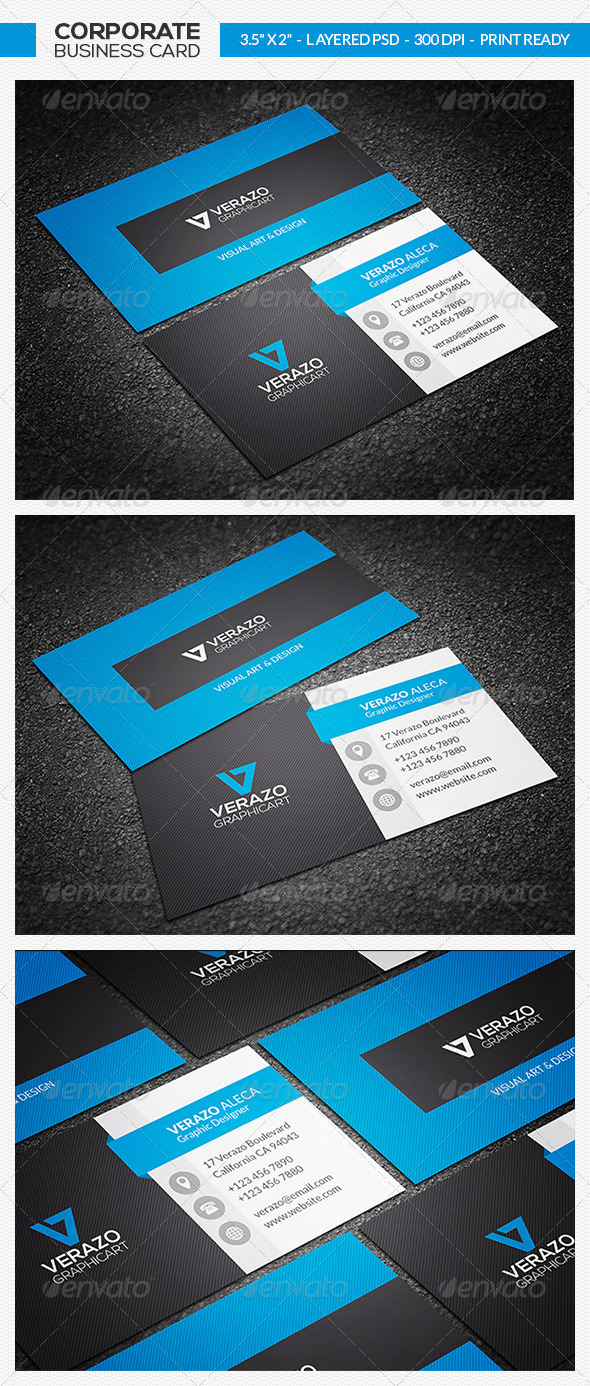 GraphicRiver Corporate Business Card 22 7417453