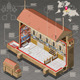 Isometric Infographic of Sistina Chapel in Vatican - GraphicRiver Item for Sale
