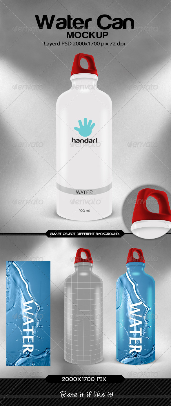 GraphicRiver Water Can 7417729