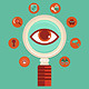 Vector Surveillance and Control Concept - GraphicRiver Item for Sale