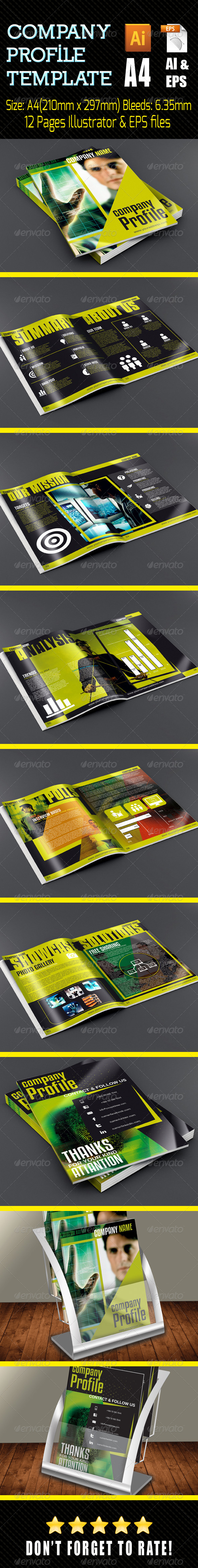 GraphicRiver Company Profile Portrate 7408583