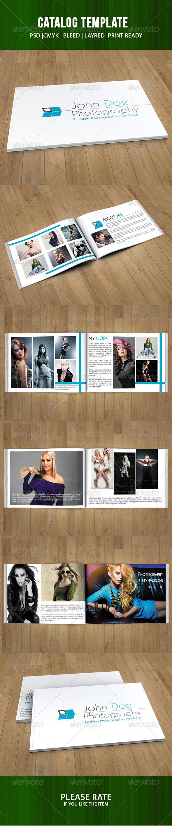 GraphicRiver Portfolio Brochure Template 7420104