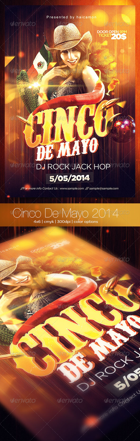 GraphicRiver Cinco De Mayo 2014 7420148