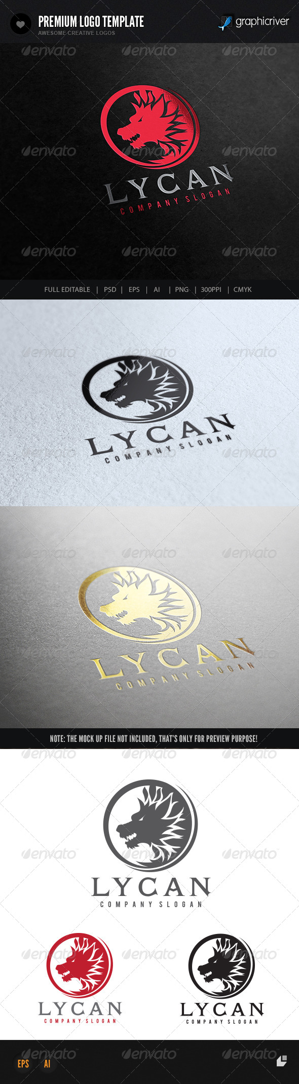GraphicRiver Lycan 7420275
