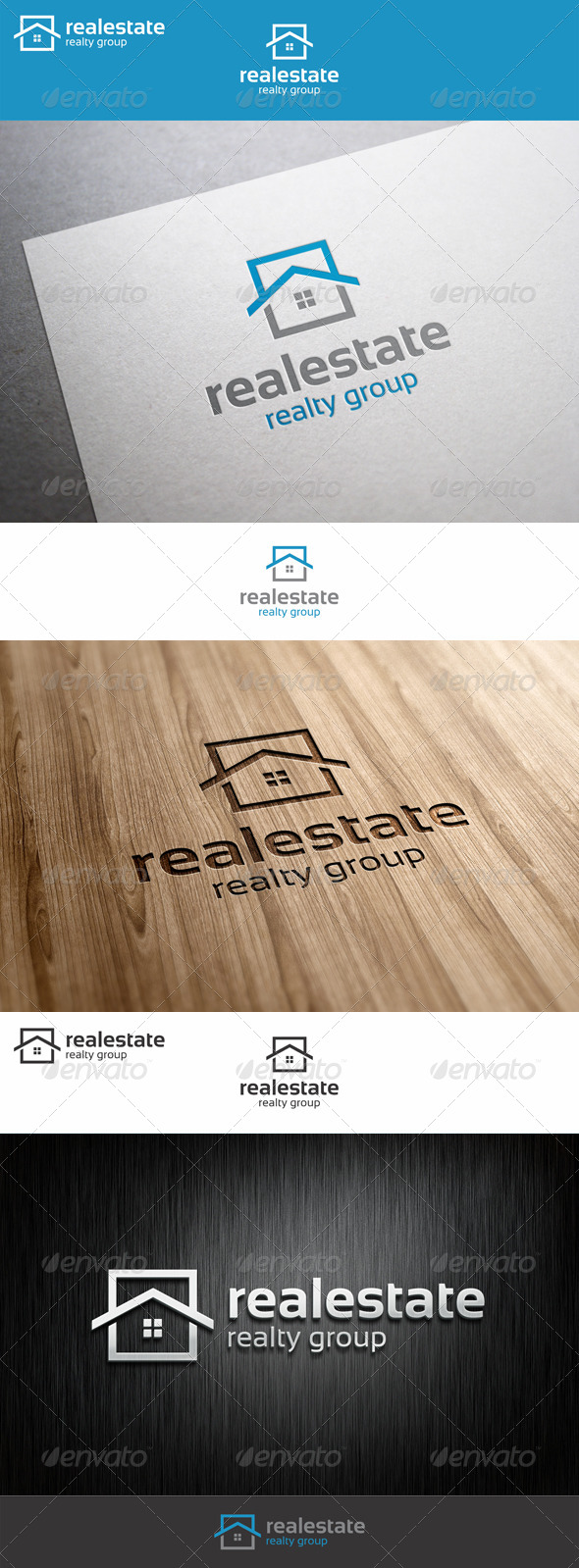 GraphicRiver Real Estate Logo Realty Group 7420389