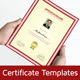Clean Certificate Template - GraphicRiver Item for Sale