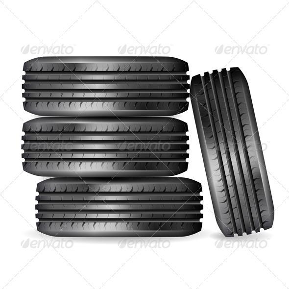 GraphicRiver Tires 7420897