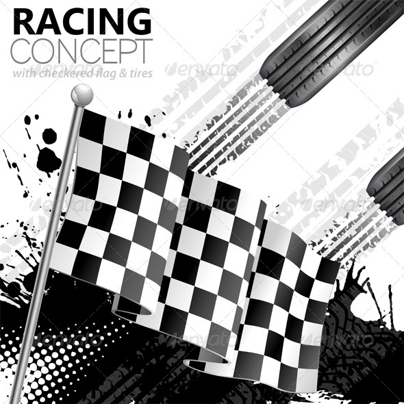 GraphicRiver Racing 7420930