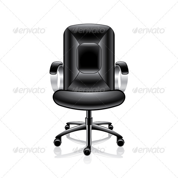 GraphicRiver Office Chair Vector Illustration 7421150