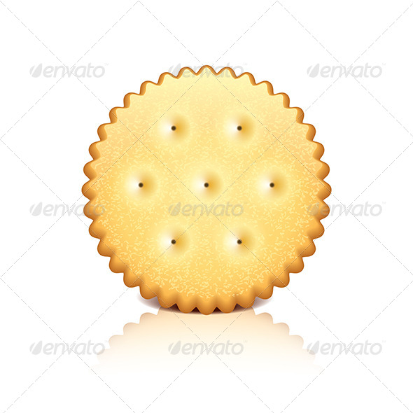 GraphicRiver Cracker Cookie Vector Illustration 7421154