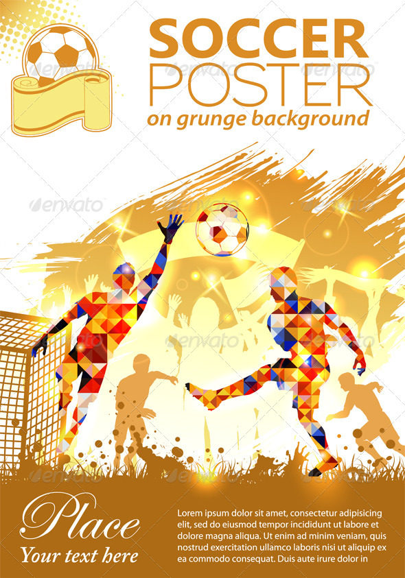 GraphicRiver Soccer Poster 7421161