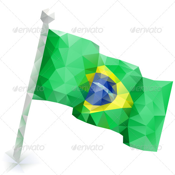 GraphicRiver Flag Brazil 7421371