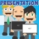 Businessman Mascot Presentation - GraphicRiver Item for Sale