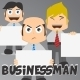 Businessman Mascot - GraphicRiver Item for Sale