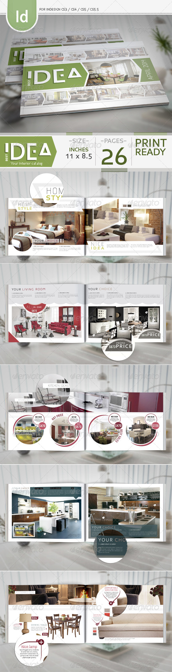 GraphicRiver Product Catalog Issue 1 7422648