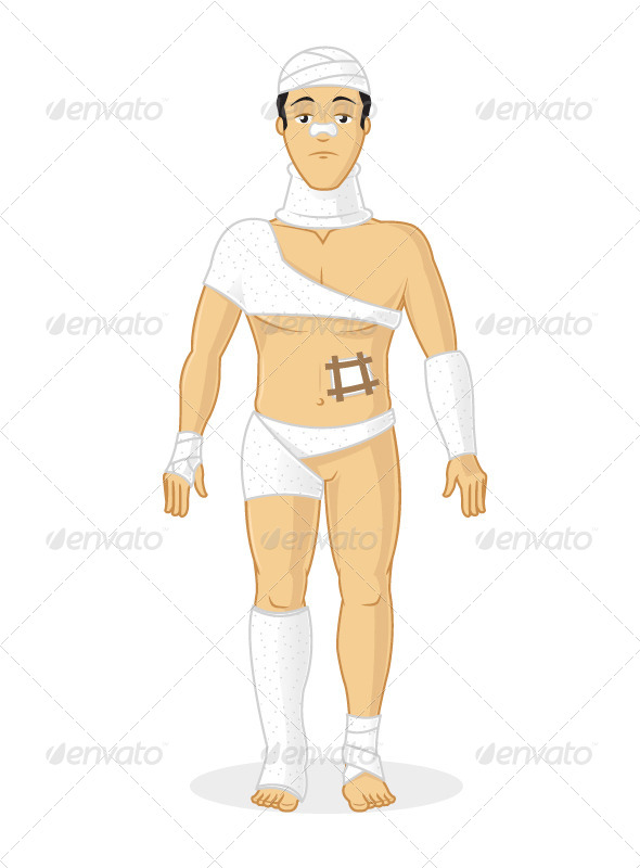 GraphicRiver Body Injuries 7422704