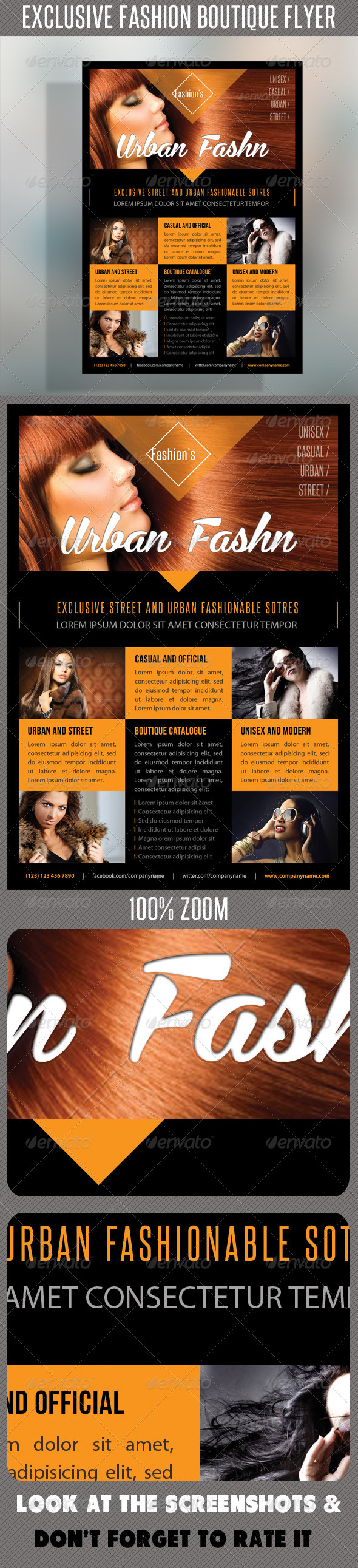GraphicRiver Fashion Product Flyer 48 7422718