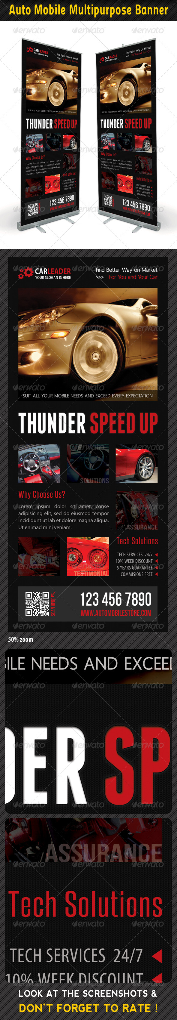 GraphicRiver Auto Mobile Banner Template 02 7417465