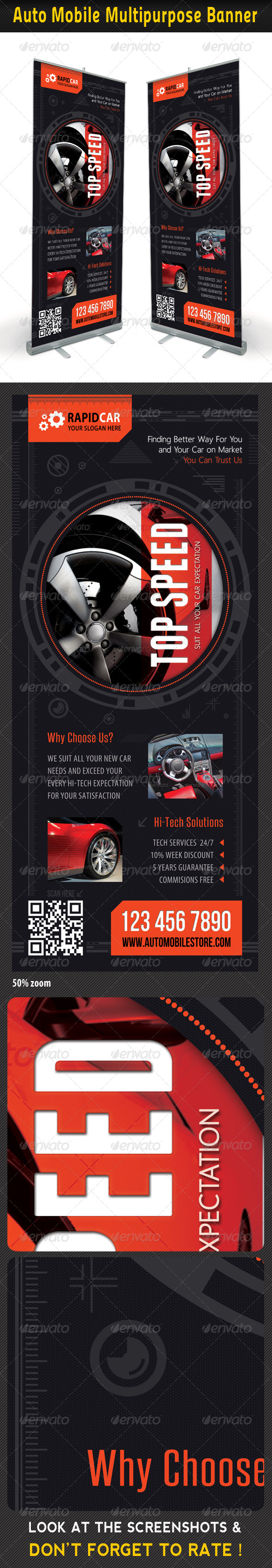 GraphicRiver Auto Mobile Banner Template 01 7404935