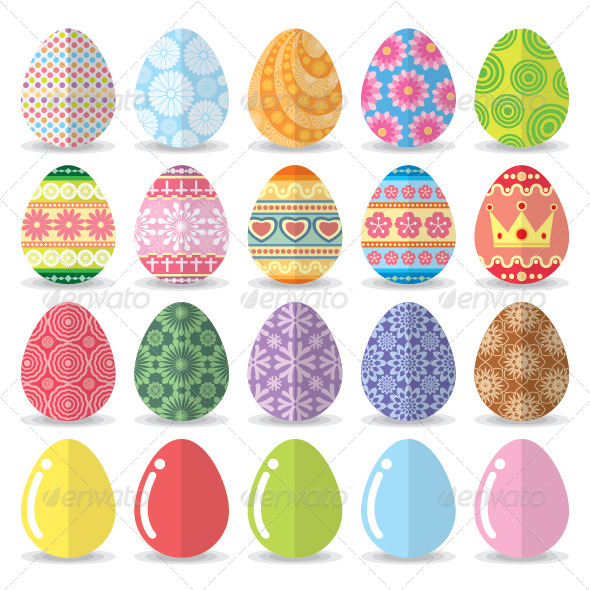GraphicRiver Easter Eggs 7423064