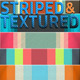 60 Striped & Textured Backgrounds - GraphicRiver Item for Sale