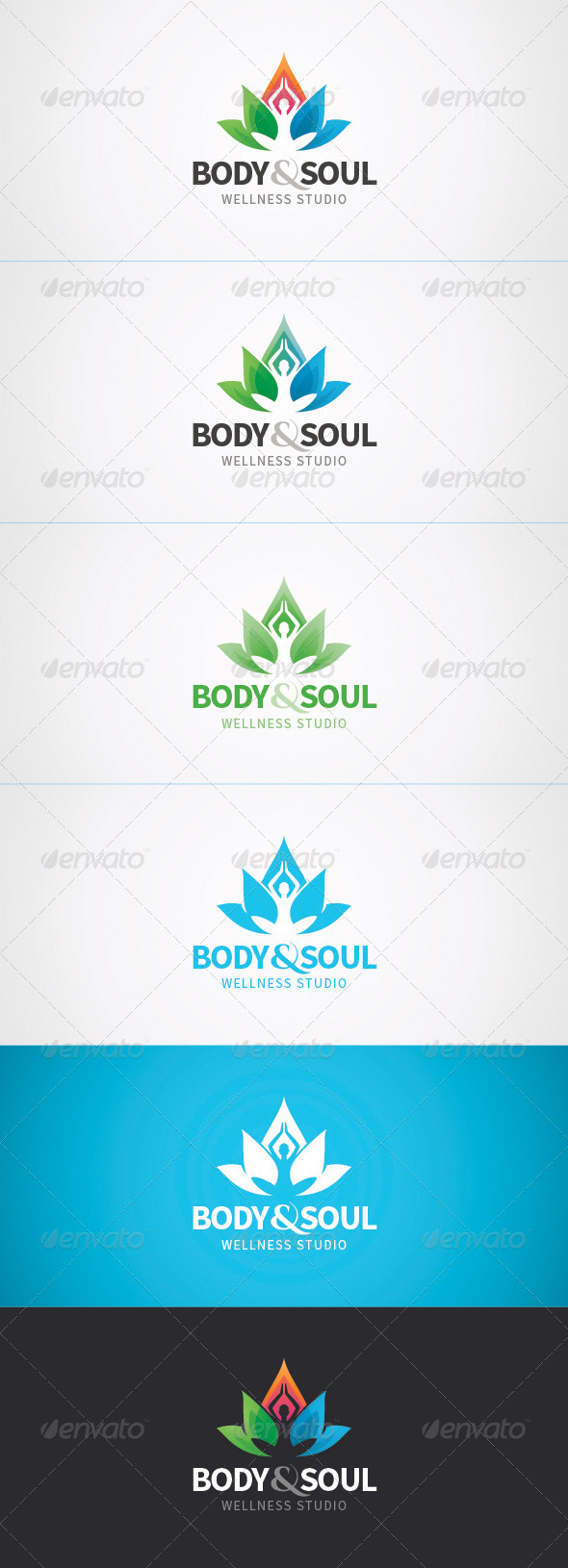 GraphicRiver Wellness Logo 7423205