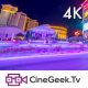 Vegas Street at Night - VideoHive Item for Sale