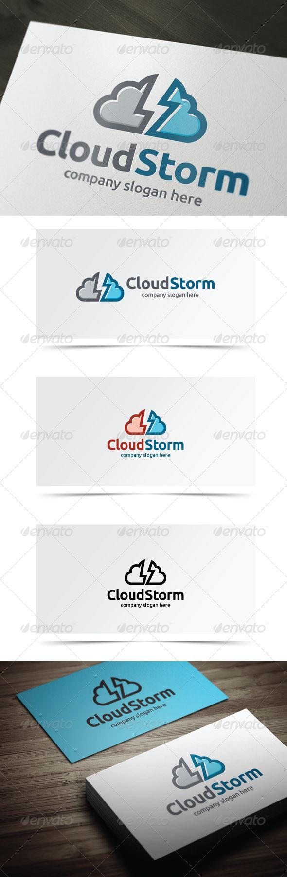 GraphicRiver Cloud Storm 7423816