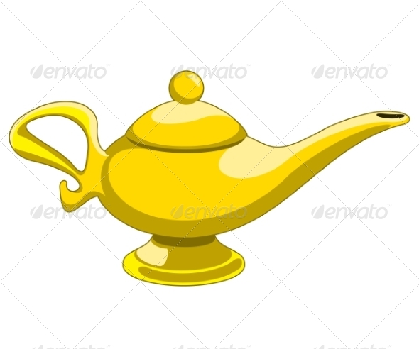 GraphicRiver Genie Lamp 7423846