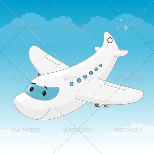 GraphicRiver Airplane 7424019