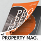 Property Magazine Template - GraphicRiver Item for Sale