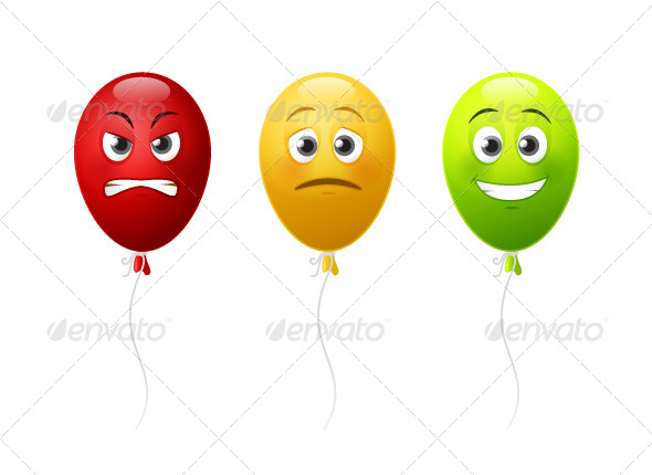 GraphicRiver Balloon Faces 7424226