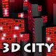 Night Mirage City (Loop 3D) - VideoHive Item for Sale