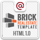 Brick - Responsive Real Estate Site Template - ThemeForest Item for Sale
