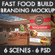 Fast Food Building Branding Mockup - GraphicRiver Item for Sale