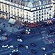 Street Top View in Paris - VideoHive Item for Sale