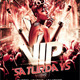 Vip Saturdays Party Flyer - GraphicRiver Item for Sale